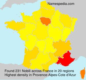 Surname Nobili in France