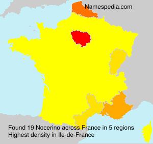 Familiennamen Nocerino - France