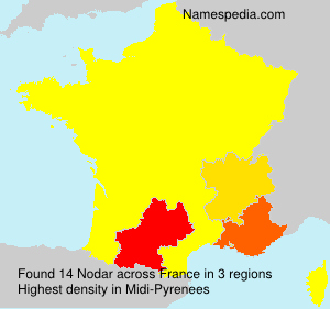 Surname Nodar in France