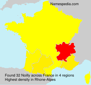 Surname Noilly in France