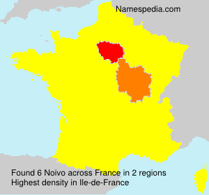 Surname Noivo in France