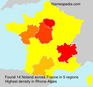 Surname Noland in France