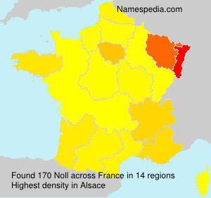 Surname Noll in France