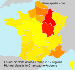 Surname Nolle in France