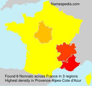 Surname Nonnato in France