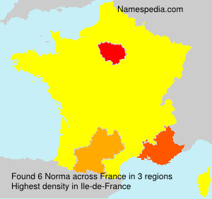 Surname Norma in France