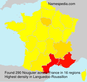 Surname Nouguier in France
