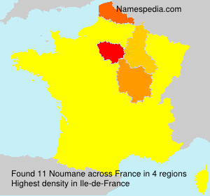 Surname Noumane in France