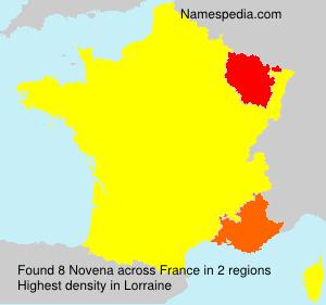 Surname Novena in France