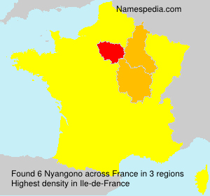 Surname Nyangono in France