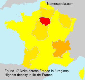 Familiennamen Nzita - France