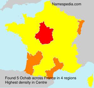 Surname Ochab in France