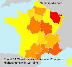 Familiennamen Oliverio - France