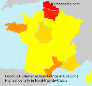 Surname Ollevier in France