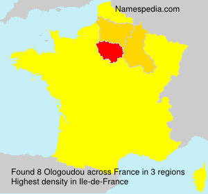 Surname Ologoudou in France