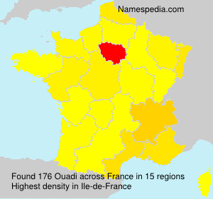 Surname Ouadi in France