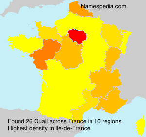 Surname Ouail in France