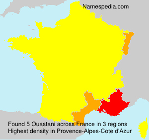 Surname Ouastani in France