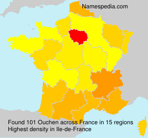 Surname Ouchen in France