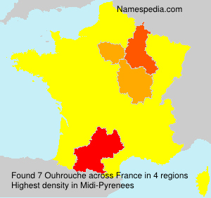 Surname Ouhrouche in France