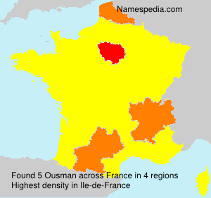 Surname Ousman in France
