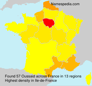 Surname Oussaid in France
