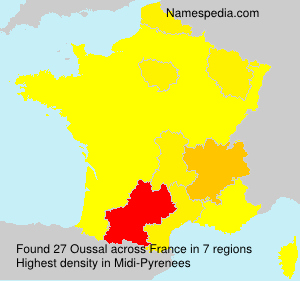 Surname Oussal in France