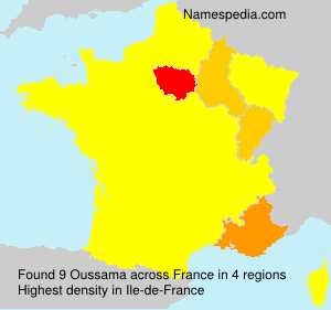 Surname Oussama in France