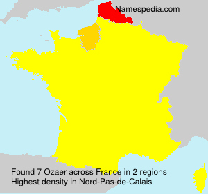 Surname Ozaer in France