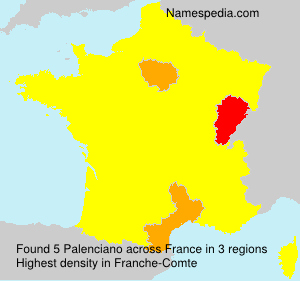 Surname Palenciano in France