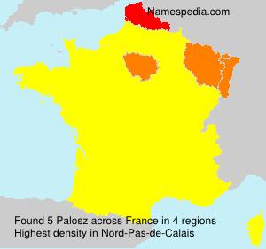 Surname Palosz in France
