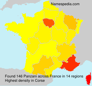 Familiennamen Panzani - France