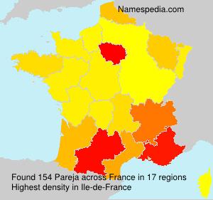 Surname Pareja in France