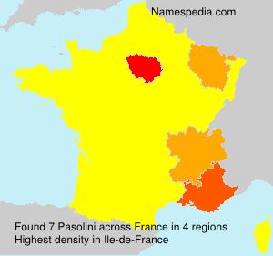 Surname Pasolini in France