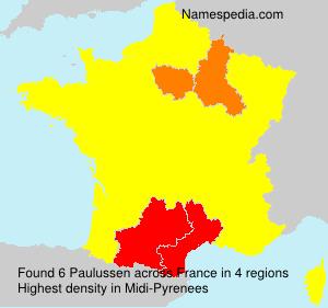 Familiennamen Paulussen - France