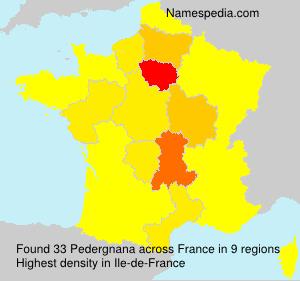 Pedergnana - France