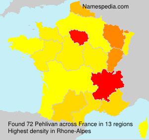 Familiennamen Pehlivan - France