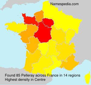 Surname Pelleray in France