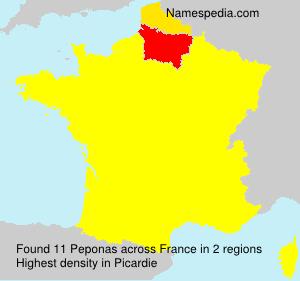 Peponas - France
