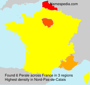 Surname Perale in France