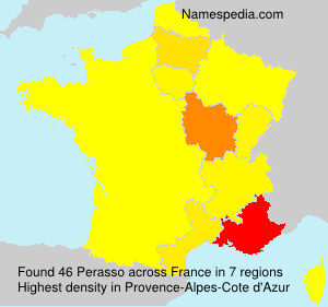 Surname Perasso in France