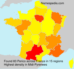 Surname Perico in France