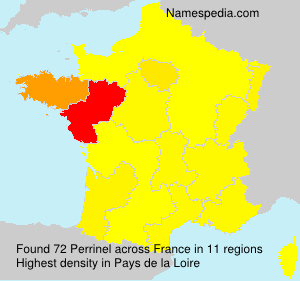 Surname Perrinel in France