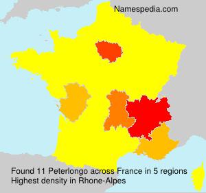 Surname Peterlongo in France