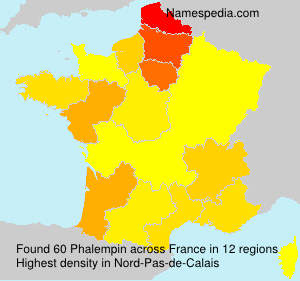 Surname Phalempin in France