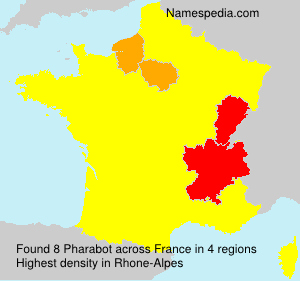 Surname Pharabot in France