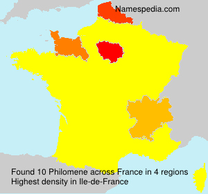 Surname Philomene in France