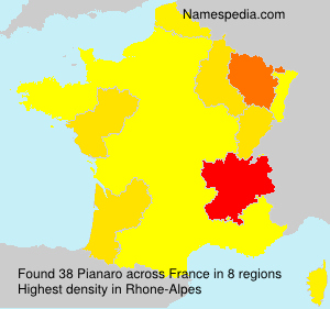 Surname Pianaro in France