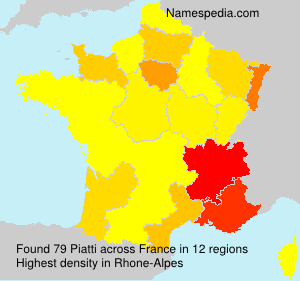 Surname Piatti in France
