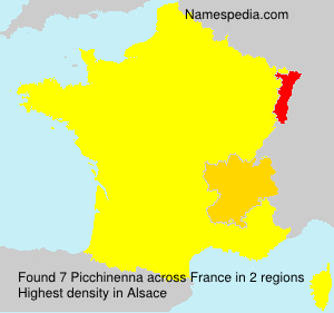 Surname Picchinenna in France